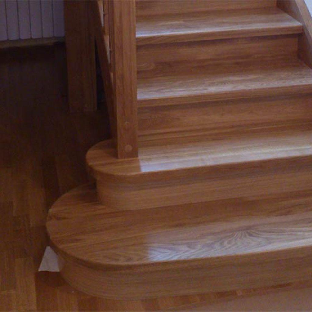 Изготовление деревянной лестницы из дуба